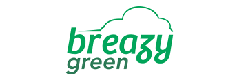 breazy green logo